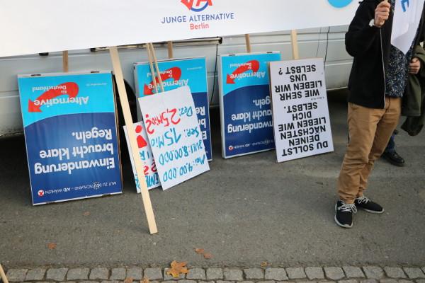Kein Ende in Sicht – Rassistische Proteste in Berlin