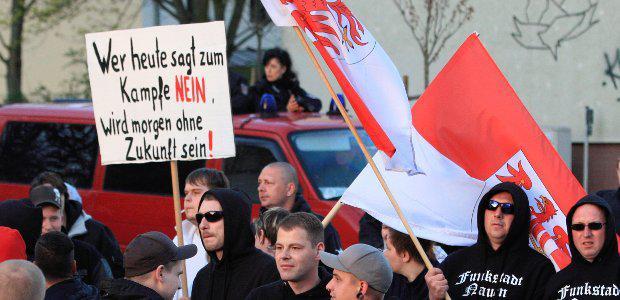 Flüchtlingsfeindliche Kampagnen in Brandenburg