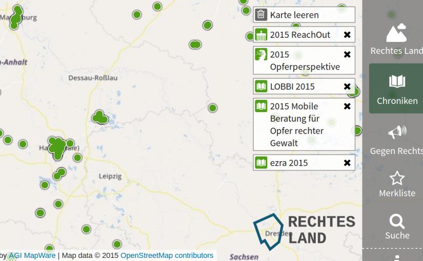 Neue Daten: Chroniken rechter Gewalt 2015